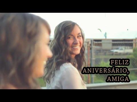 Msg de aniversário - Mensagem de Aniversário para Amiga