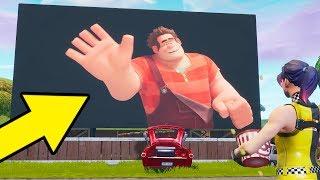 Wreck it Ralph in Fortnite EASTER EGG!