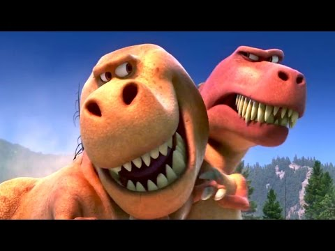 """""""Get out of your sister's bubble"""" THE GOOD DINOSAUR Movie Clip"""