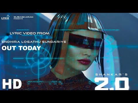 Video songs - Robot 2.0 Video song Release Today, Akshay Kumar Rajnikant Amy jackson Ar rahmam, 2.0 Songs