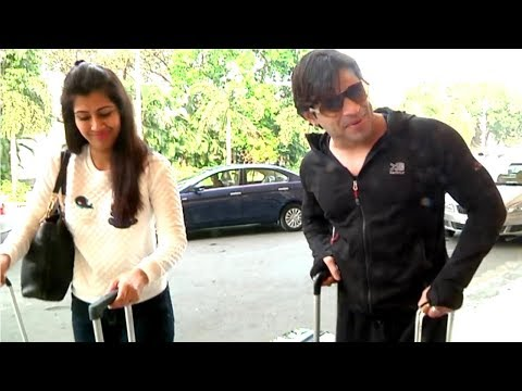 Karan Patel & Ankita Bhargava fly to Goa