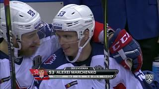 Марченко забивает впервые после возвращения