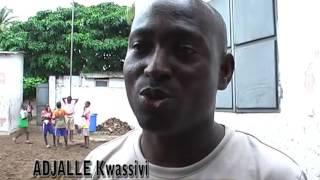 Remise de don à l'école Horizon 2000 au Togo