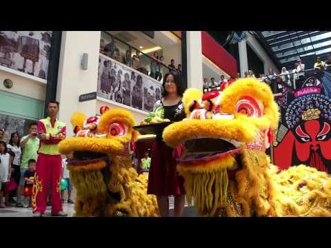 Publika CNY 2013 - Traditional Lion Dance & Lou Sang @ Publika Kuala Lumpur