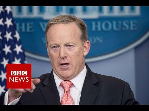 White House press secretary Sean Spicer resigns - BBC News