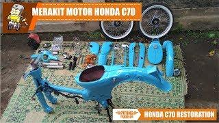 Video #C70RESTORATION | Merakit Motor Honda C70 Lur | #pitungtraveler MP3, 3GP, MP4, WEBM, AVI, FLV Oktober 2018