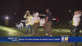 Crews Remove Body Of Male Found Floating In White Rock Creek
