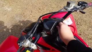 7. 2006 Honda TRX400EX Walk around & Start Up