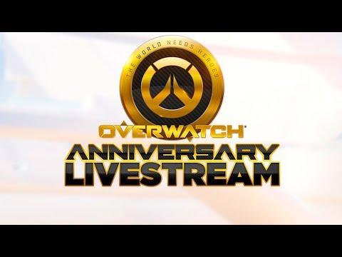 Overwatch Anniversary Celebration Livestream with Loot Box Opening (видео)