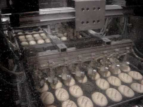 Robotic Gantry Bread Scoring For Specialty Bakery Roll Product