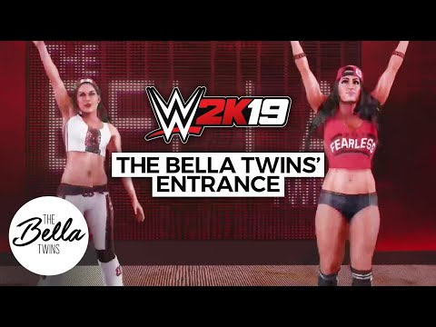 You can look at The Bella Twins' entrances but you can't touch! | WWE 2K19: First Look