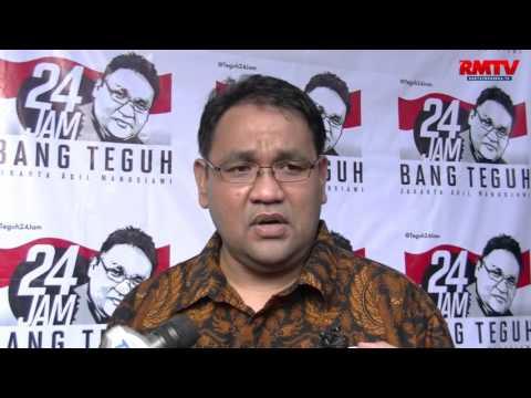 Teguh 24 Jam Untuk Jakarta Adil dan Manusiawi