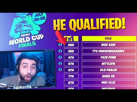 This Pro CHEATED To QUALIFY For The World Cup.. (Fortnite Battle Royale)
