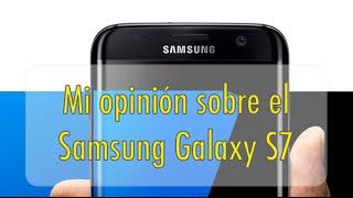 """En este video quiero dar mi opinión sobre el Samsung Galaxy S7, y de esta forma, contestar a aquellas personas que e el anterior video llamado """"Samsung Galaxy S7 ¿Merece la pena comprarlo? opiniones"""" se cabrearon un poco conmigo por ver el video y no ver qué opinaba yo sobre el terminal, espero que con este video ya sepan que opino sobre este smartphone, Saludos."""