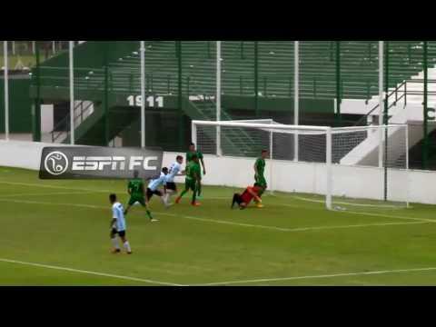 Sarmiento 3 - Racing 2 / Primer gol de Braian Guille para la Reserva