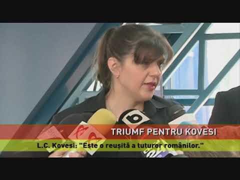 Kovesi, aviz favorabil pentru funcția de procuror șef european