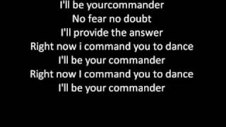 Kelly Rowland Ft. David Guetta - Commander (LYRICS)