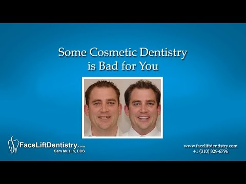 Some Cosmetic Dentistry is Bad for You