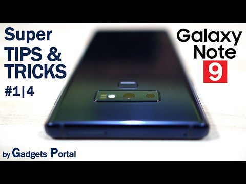 Samsung GALAXY NOTE 9 Advanced TIPS & TRICKS, Hidden Features! (Ep1/4) 🔥🔥