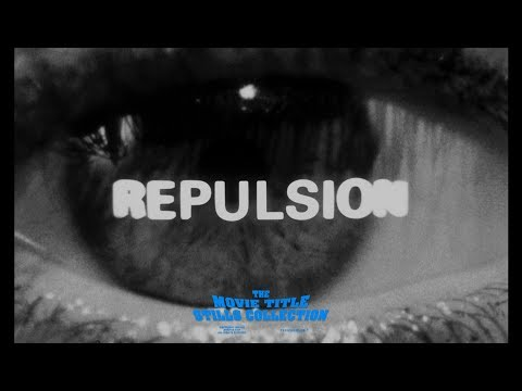 Repulsion (1965) Title Sequence