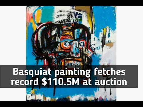 Basquiat painting sells for $110.5 million, the most ever paid for an American artwork