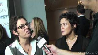 Lisa Cholodenko And <b>Wendy Melvoin</b> At The PFLAG LA Event 2010