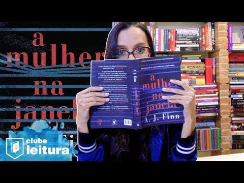 """O Suspense de """"A Mulher na Janela"""" - Clube Leitura e Amanda Azevedo"""
