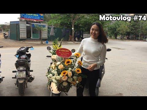 Navu và bạn gái đi mừng thằng em khai trương Star Moto | Motovlog 74 - Thời lượng: 7 phút, 11 giây.