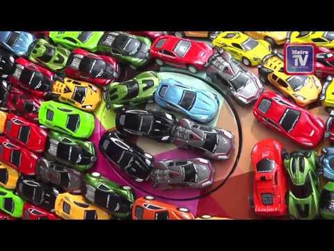 رجل أعمال يزينجاغوارفاخرة بـ 4600 سيارة صغيرة