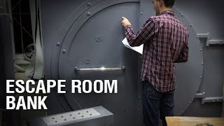 Escape room Bank (ready to play escape room) Bank robbery