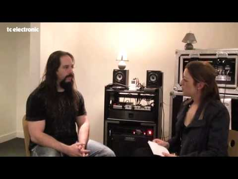 Joey from TC Electronic did an interview with John Petrucci about this and that...