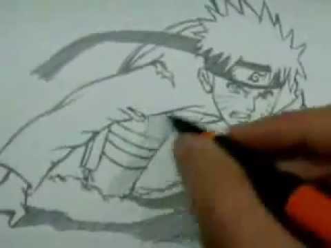 Cómo dibujar a Naruto