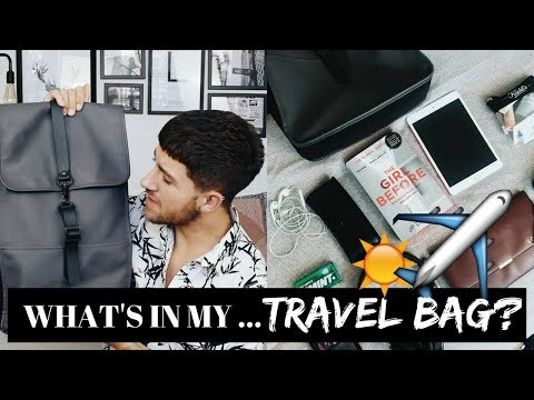 WHAT'S IN MY CARRY ON BAG? | #TravelWithLuke