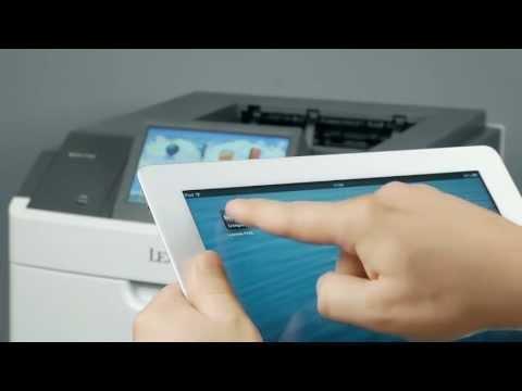 Видео-обзор лазерного принтера Lexmark MS812de