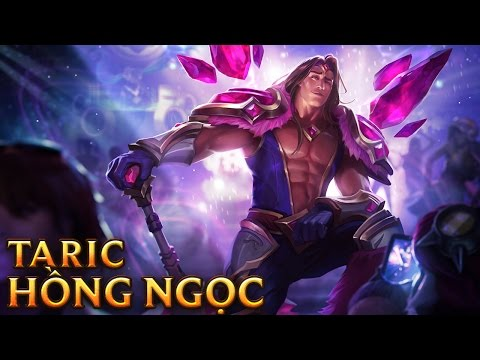 Taric Hồng Ngọc - Armor of the Fifth Age Taric