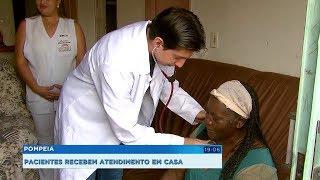 Home Care: pacientes recebem atendimento de saúde domiciliar em Pompeia