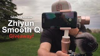 Zhiyun Smooth Q - Review & Giveaway! - in 4k