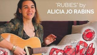 Rubies, a midrash on Proverbs 31 (Eshet Chayil) by Alicia Jo Rabins
