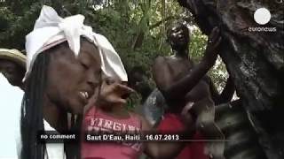 Thousands of Haitian pilgrims gathered at the sacred Saut d'Eau waterfall on Tuesday for a traditional ceremony to wash away ...