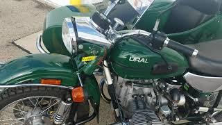 8. 2007 Ural Patrol 2WD Sidecar Motorcycle