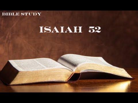bible study isaiah 52