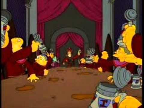 Los Simpsons Masones.