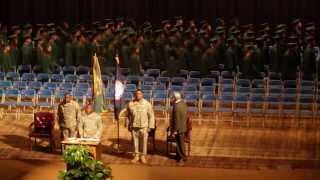 Minden (LA) United States  City new picture : 2014 Louisiana National Guard YCP Graduates Procession onto stage , Shreveport, La.