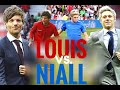 Louis vs. Niall - playing at Soccer Aid 2016 for UNICEF
