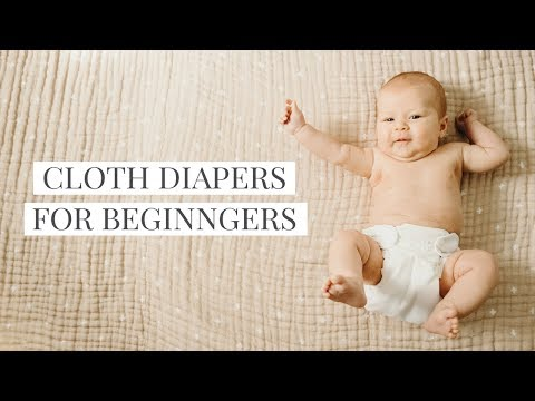 How to Cloth Diaper for Beginners - It's easier than you think!