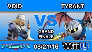 MSM 42 Grand Finals – 2GG | VoiD (Sheik) vs NME | Tyrant (MK) Perfect Showcase of 1.1.5