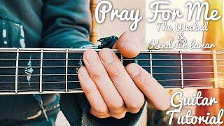 Pray For Me The Weeknd Kendrick Lamar Guitar Tutorial // Pray For Me Guitar // Lesson #402