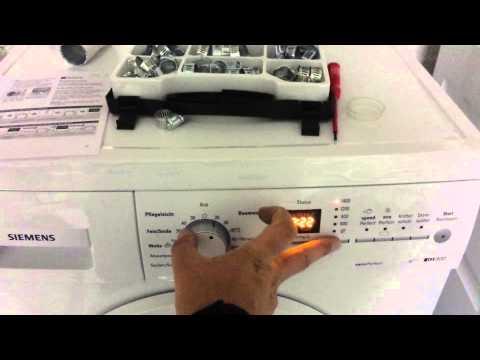 Waschmaschine Siemens IQ 300 Töne Signale ändern