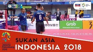 Video Sukan Asia 2018: Sorotan Sepak Takraw | Malaysia vs Korea Selatan | Match 1 | Astro Arena MP3, 3GP, MP4, WEBM, AVI, FLV Agustus 2018
