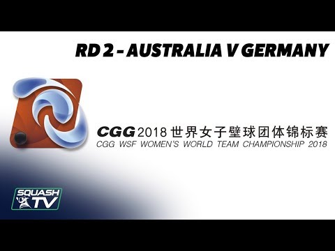 WSF Women's World Team Champs 2018 - Australia v Germany - Round 2 Livestream